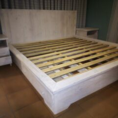 wooden bed for sale