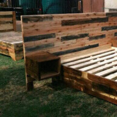 pallet bed for sale